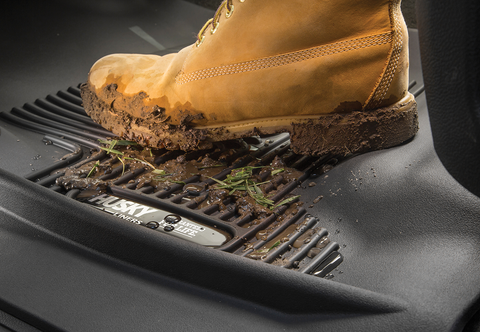 Keep mud on the liner and off your vehicle with X-Act Contour from Husky
