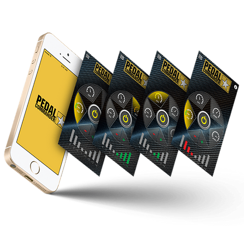 The Pedal Commander App on your Smart Phone