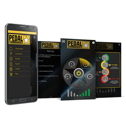 Pedal Commander has an App