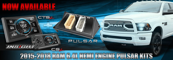 Pulsar plus Insight CS2 or CTS2 for the Ultimate Ram Truck Driving Evolution