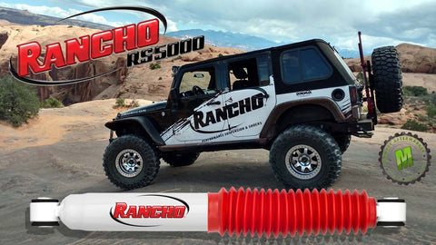 Rancho RS5000 twin tube shock