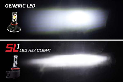Diode Dynamics LED SL1 vs Generic LED
