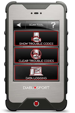 The DiabloSport inTune i3 can scan DTC's
