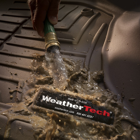 WeatherTech Digital Fit Floor liners and mats are super easy to clean
