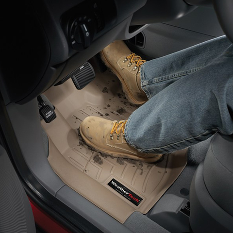 Keep mud from damaging your truck with Weather Tech Floor Mats and Liners