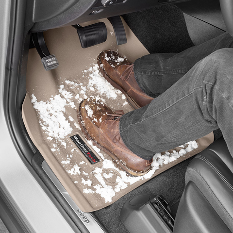 Keeps snow on your mats too instead of carpet with WeatherTech DigitalFit Floor Liners