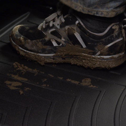 Keep mud on your shoes and the mat instead of your upholstery with WeatherTech Digital Fit Floor Liners