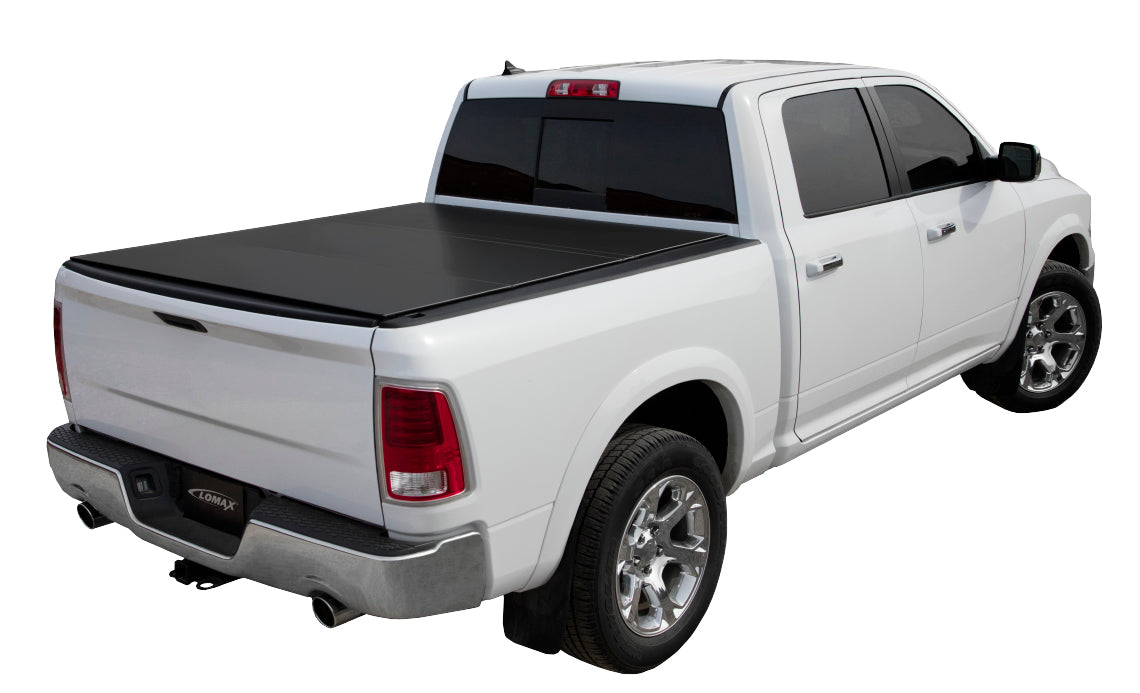 2016 Dodge Ram 1500 Accessories >> Lomax Hard Trifold Tonneau Cover For 2019 Dodge Ram 1500 5 7 Bed Without Rambox Cargo Management System B1040039