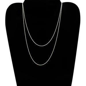 "Sterling Silver Chains 24"" or 30"""