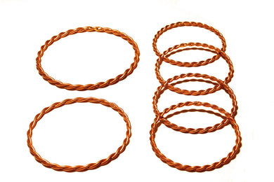 Set of 6 Heavy Duty Rings