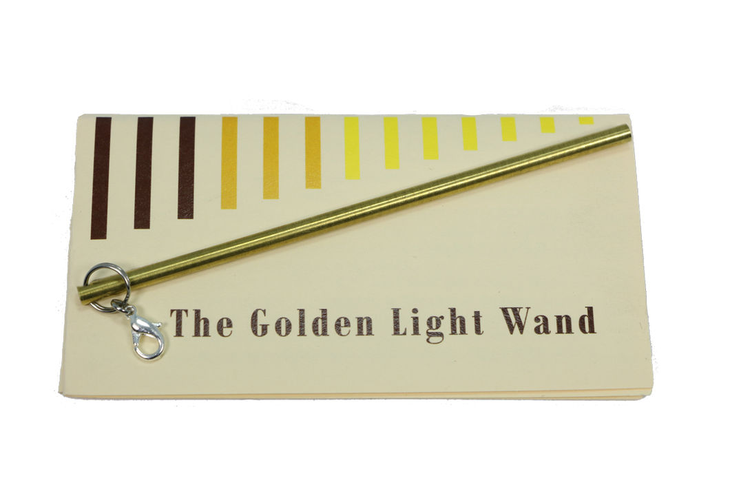mini golden light wand