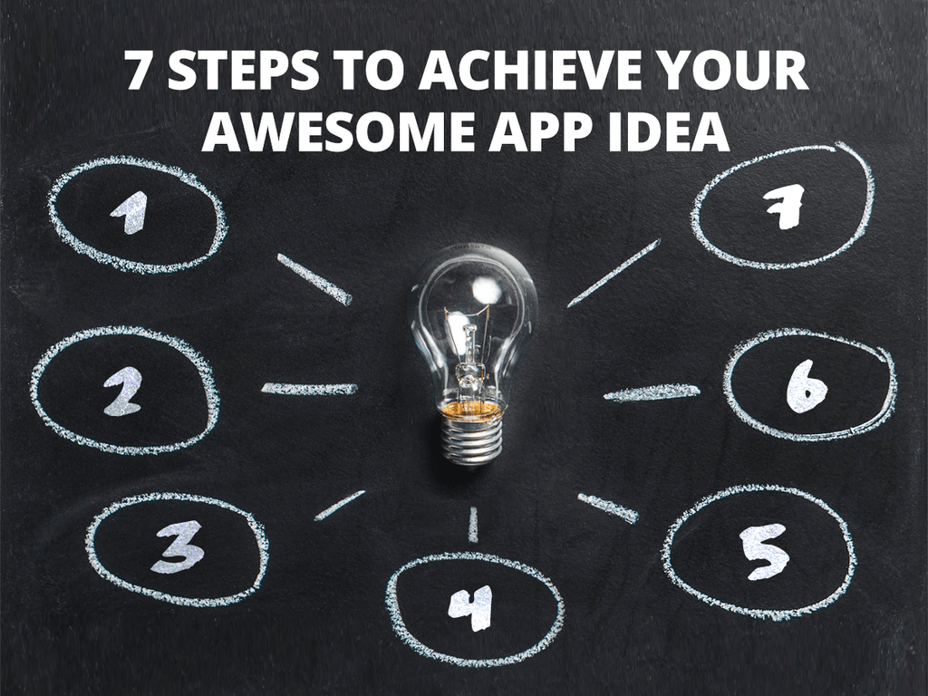 7 Steps to Achieve Your Awesome App Idea