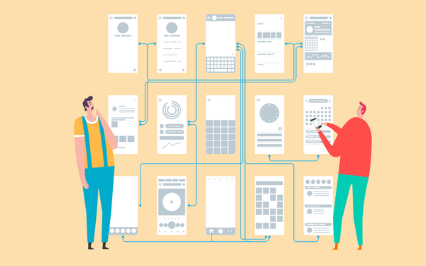 Your web and mobile app design should follow a logical order