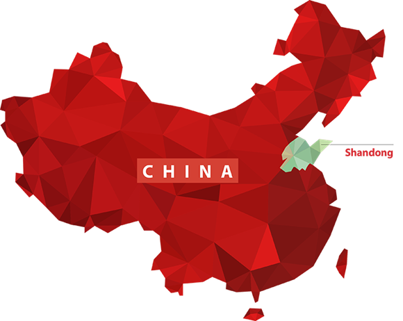 China-Shandong-Map