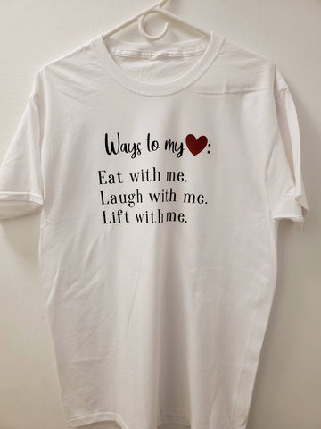 Ways to my Heart Tee