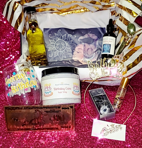 Birthday Queen Spa Box