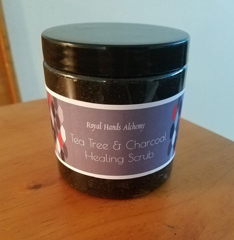 Tea Tree & Charcoal Healing Scrub