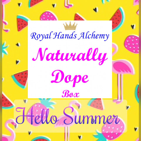 Naturally Dope Box ~ Hello Summer