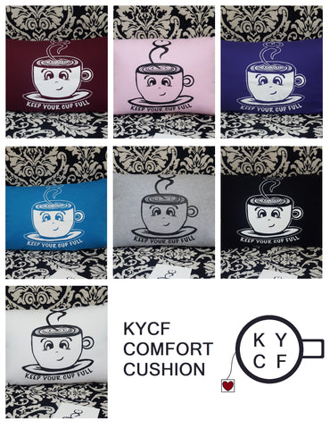 KYCF Logo - Comfort Cushion