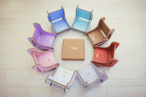 cardboard booster chairs