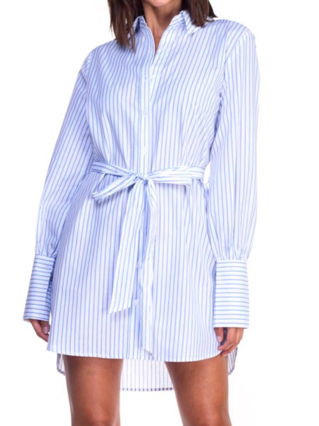 Business as Usual Blouse Dress