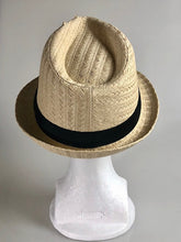 Load image into Gallery viewer, Havana Straw Fedora