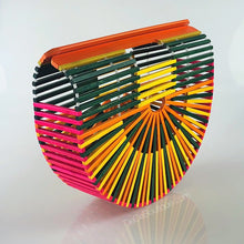 Load image into Gallery viewer, Colorful Bamboo Bag
