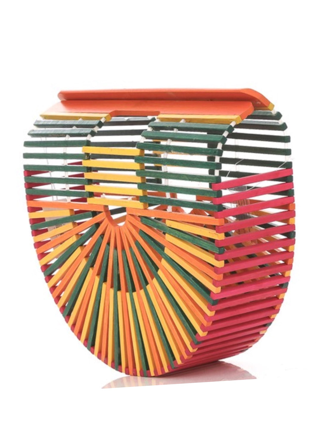 Colorful Bamboo Bag