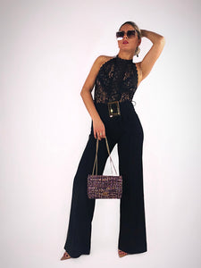 The Night is Young Buckle Jumpsuit