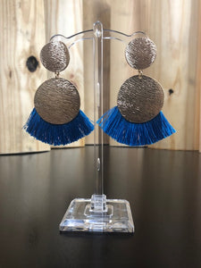 Golden Blue Jay Earring