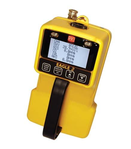 RKI Eagle 2 (6-Gas Sample Drawing Monitor)