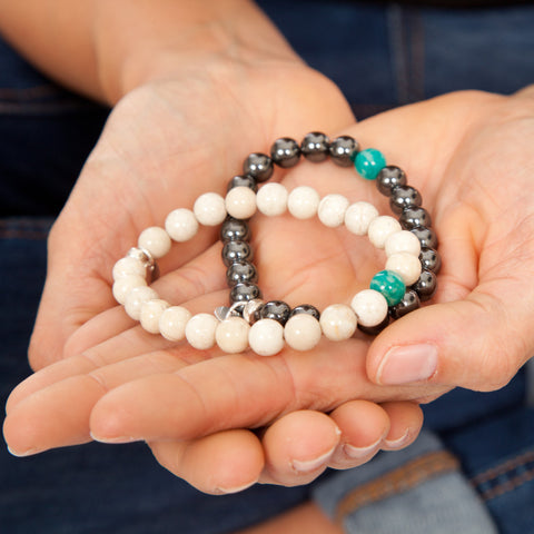 Powerful Light stretch bracelets