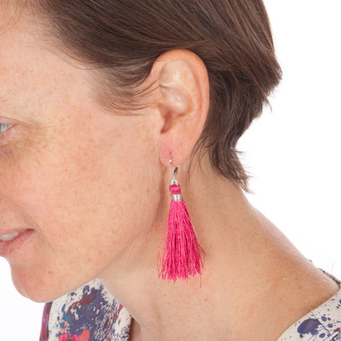 Cupcake Fringe earrings