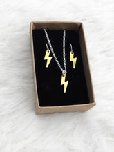 Load image into Gallery viewer, Mini Bolt Necklace