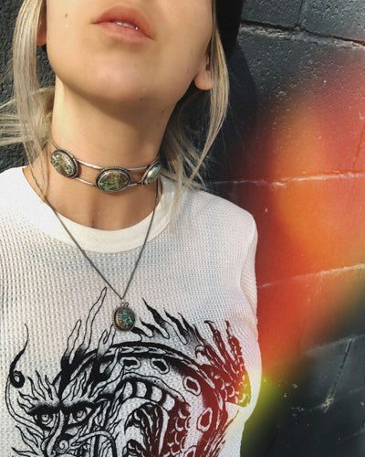 Get Stoned Choker + Necklace Set