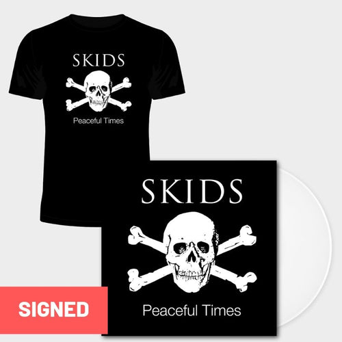 Peaceful Times (Signed White Vinyl LP + T Shirt)