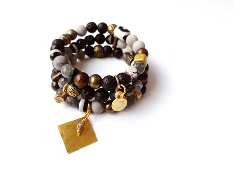 Bracelet Set: Igneous