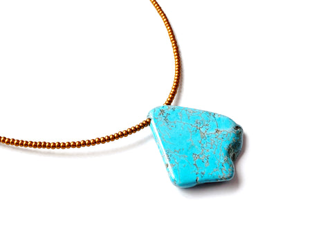 Turquoise Focus Necklace