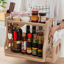 Load image into Gallery viewer, SKUDGEAR Kitchen Spice Rack Organizer Knife Board Holder, Spoons Cup, Bathroom Shampoo Bottles Soap Holder