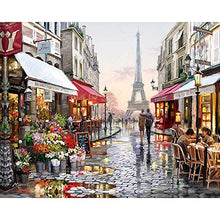 Load image into Gallery viewer, DIY Oil Painting - Paint by Numbers Paris Street