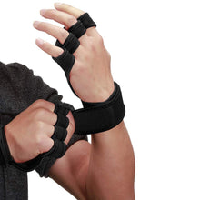 Load image into Gallery viewer, Upgraded Palm Protection Gym Gloves