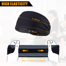 Load image into Gallery viewer, Advanced Sports Headband With Silicone Gel Bars