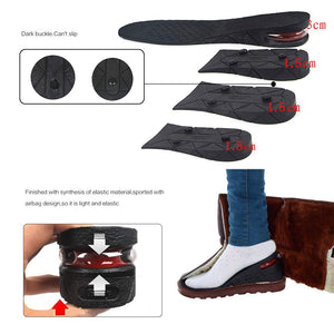 Full Pad Heightening Insoles 4 Layer