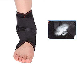 Advanced Ankle Support Compression Brace with Aluminum Alloy Bar Support