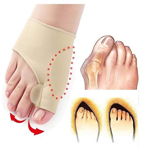 Toe Separator Bunion Corrector Sleeves With Gel Support