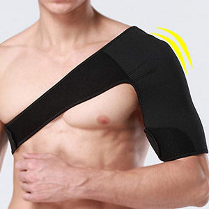 Breathable Neoprene Shoulder Support for Rotator Cuff Compression Sleeve-Left 1 Piece