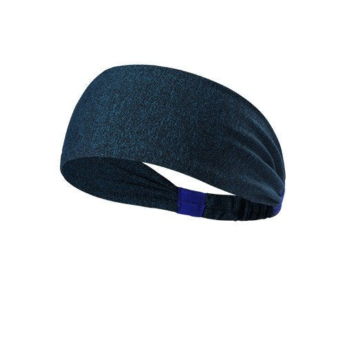 Yoga Sport Athletic Fitness Travel Headband  (Navy Blue)
