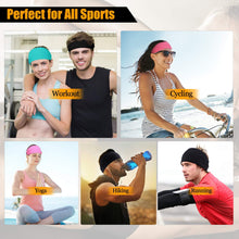 Load image into Gallery viewer, Multi-Purpose Sports Advanced Head Band With Silicone Gel Bars (Black)