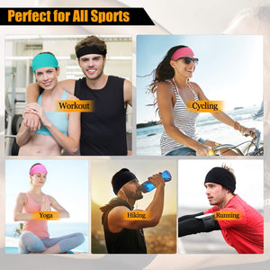 Advanced Sports Headband With Silicone Gel Bars