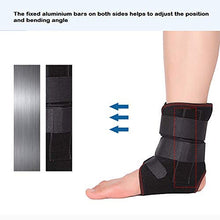 Load image into Gallery viewer, Advanced Ankle Support Compression Brace with Aluminum Alloy Bar Support